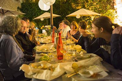 aurenjo, dinner, provence