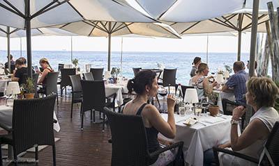 beach restaurant, nice