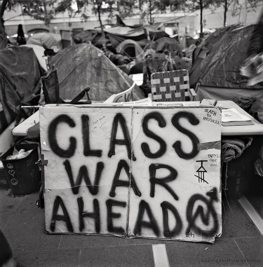 class warfare occupy wall street
