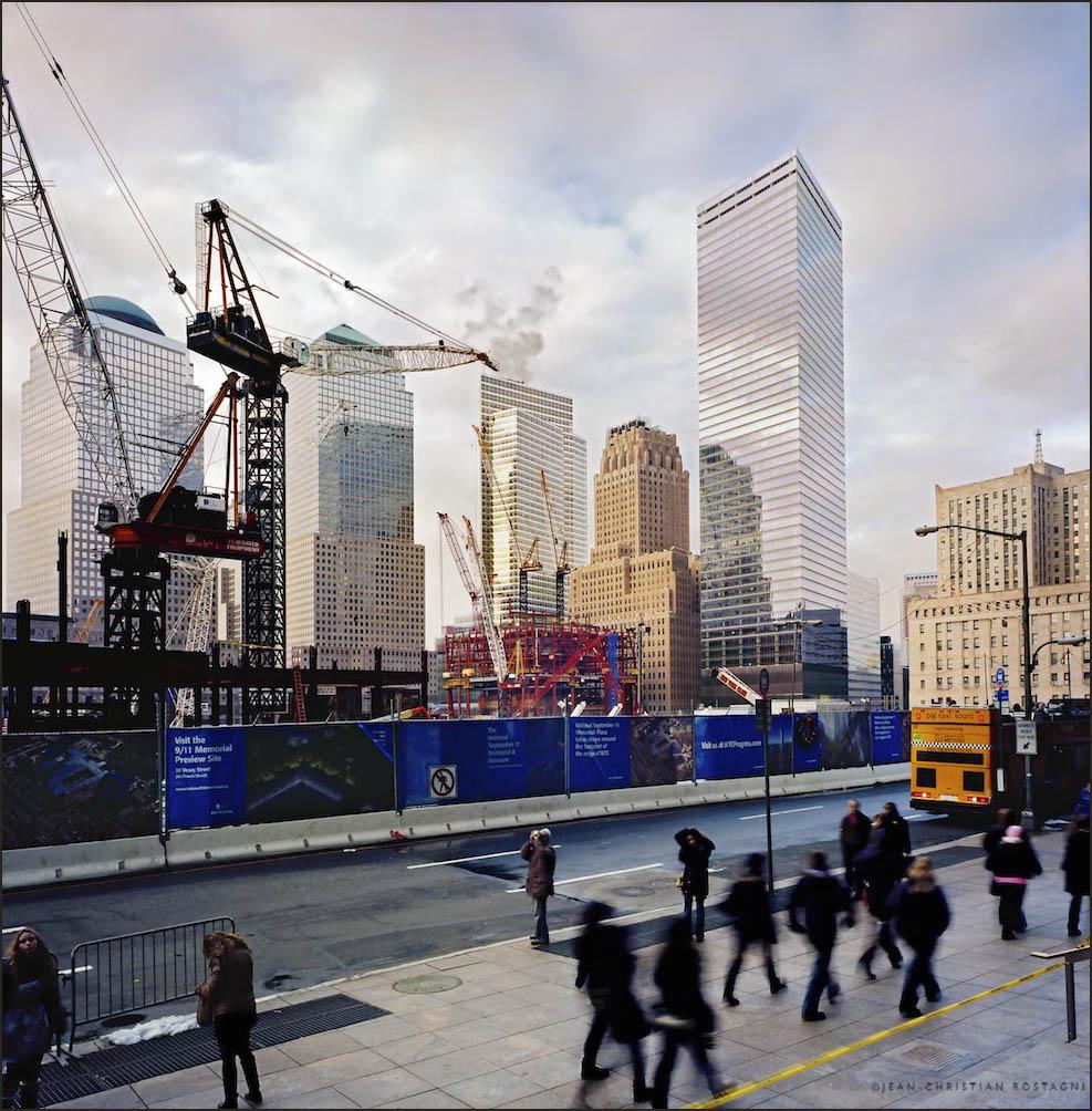 Ground zero, New York, World Trade Center