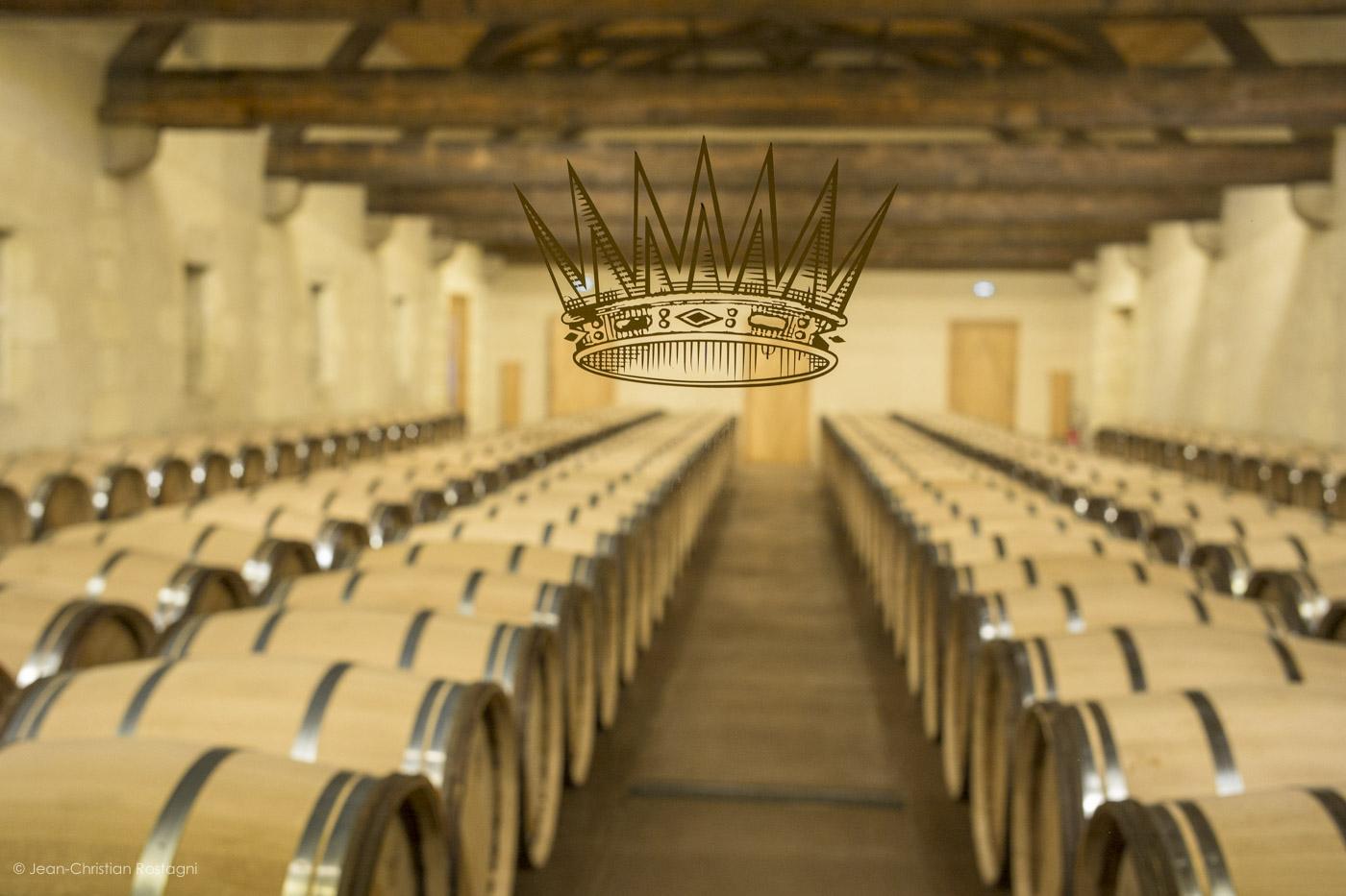 Yquem, chais, cellar, crown