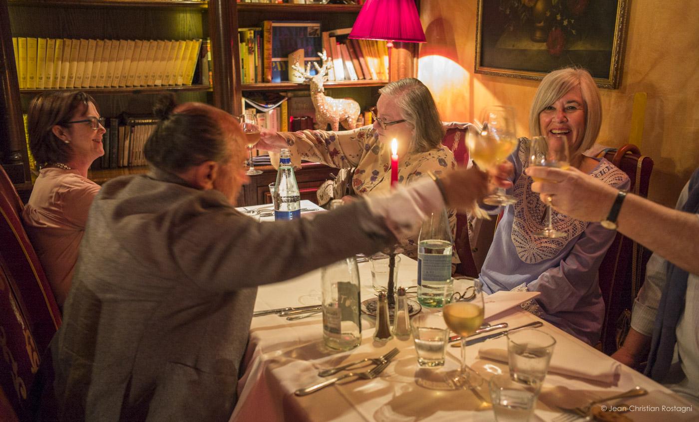 giorgios bakatsias, contrast tours dinner