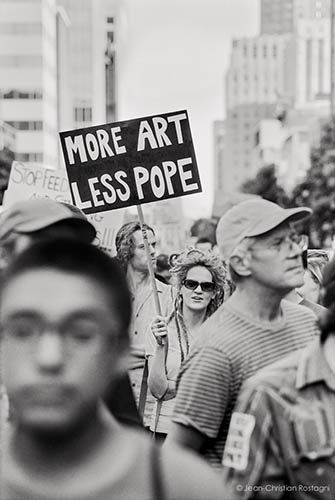 more art, less pope
