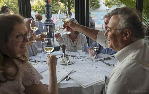 Dinner in Bordeaux