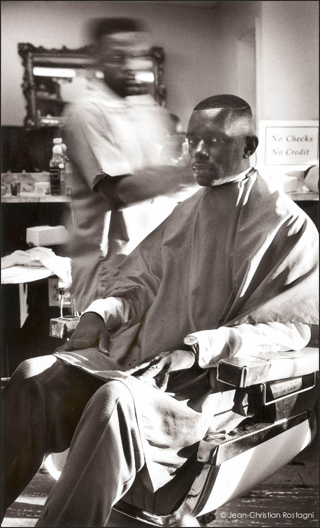 Raleigh, barber shop, Rodney King, african american, race