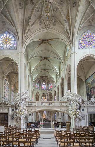 St Etienne du Mont, Paris, chuch