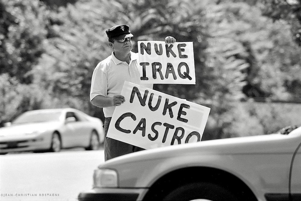 fidel castro right wing iraq