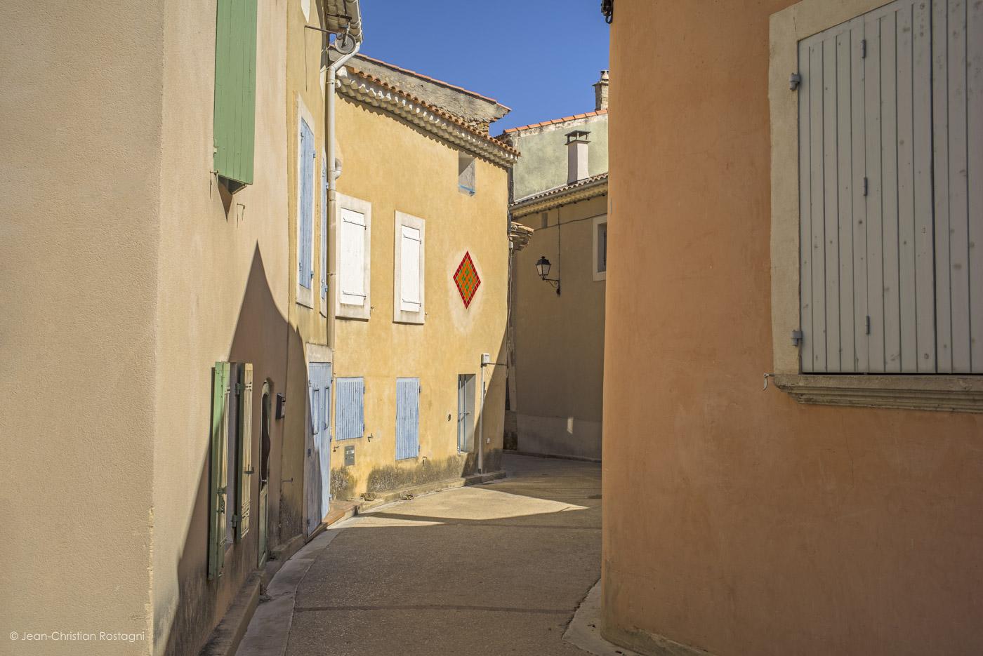 vacqueyras, village, provence