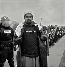 arabe protest pentagon