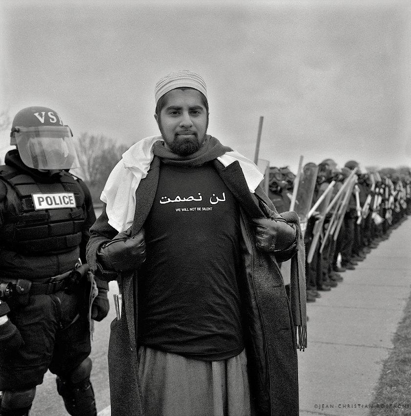 arabe protest police pentagon